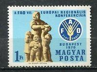 31916) Hungary 1970 MNH Fao 1v. Scott #2035