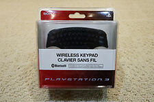 SEALED PlayStation 3 PS3 CECHZK1UC Wireless Bluetooth Keypad Keyboard Controller