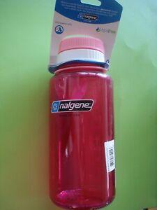NALGENE WATER BOTTLE SPORTS PRETTY PINK BPA FREE 32 OUNCE NEW