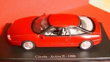 CITROEN ACTIVA II 2 ROUGE 1990 UNIVERSAL HOBBIES 1/43 EDITIONS ATLAS RED ROSSO