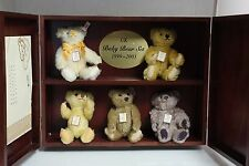 Steiff bears*UK Baby Bear Set 1999-2003  Limited Edition 16cm*Ean662225