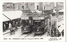 Norfolk; Gt Yarmouth Cars At Yarmouth Market c 1922 RP PPC By Pamlin, M3131