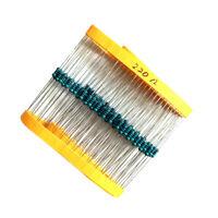 100 Pcs Kit Di Resistori 1 / 4w 0.25w 220ohm Stabile Ad Alta temperatura