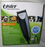 Brand New Oster 16 Piece Deluxe Dog Grooming Kit Medium Duty 078970-100