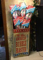 VTG BUBBLE BLASTER MAKER The Great American  Bubbles Big As Car RARE Display Box