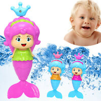 Bath Tub Fun Swimming Baby Bath Toy Mermaid Floating Water Toy For Toddlers Kids