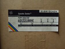 GE Spectra ADS32100HK 100A 240V 3PH Fusible Switch Expansion Kit New Surplus