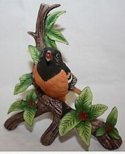 Danbury Mint Baltimore Oriole From 12 Songbird Collection Figurines Porcelain