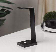 Solid Base Elite Aluminum Desktop Headphones Stand for Beats DNA Bose Hesh BLACK