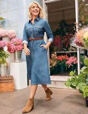 Neues AngebotKleid Holly für m&s Collection Denim Shirt Midi 10