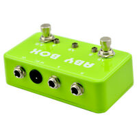 Hand Made ABY Pedal Box For Effects Pedal-True Bypass- AMP / Guitar AB G