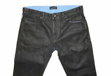 Diesel Black Gold Excess-NP-FS Black Coated Jeans W33 100% Authentique
