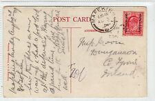 BECUANANLAND PROTECTORATE: 1909 postcard to Ireland (C24176)
