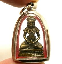 CAMBODIA KHMER BUDDHA PENDANT AMULET STRONG PROTECTION BLESS SUCCESS HAPPY LIFE