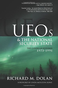 Dolan Mr Richard M-Ufos & The Natl Security State (US IMPORT) BOOK NEW