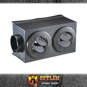 FLEXALITE PLENUM BOX FOR HEATER - F650