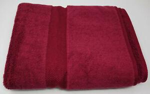 NEW Ralph Lauren Solstice Red Bath Hand Towel 100% Cotton Made in USA