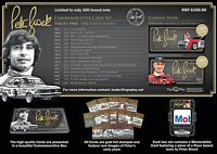 PETER BROCK COMMEMORATIVE TRADING CARD SET - SERIES ONE - THE EARLY YEARS