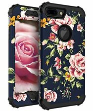 iPhone7 Plus Hybrid Heavy Duty Shockproof 3 in 1 Layer Protective Case Cover