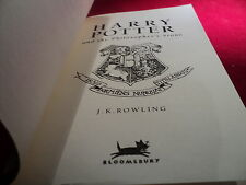 Harry Potter and the philosopher's stone Published by Bloomsbury PAPERBACK 57