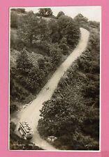 Vintage postcard, Minehead, Porlock Hill, Somerset.