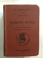 MANUEL DE PATHOLOGIE INTERNE VOL 1 DIEULAFOY APPAREIL RESPIRATOIRE CIRCULATOIRE