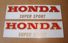 Honda CB 400 Four_Tank - Embleme_rot/gold_Dekor_2 Stueck_Emblem_decor_2pieces