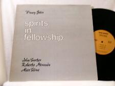 VINNY GOLIA Spirits in Fellowship JOHN CARTER Roberto Miranda Alex Cline LP
