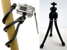 HEAVY DUTY LIGHT WEIGHT FLEXIBLE TRIPOD STAND/MOUNT FOR CAMCORDER CAMERA VIDEO