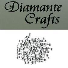 144 SS10 chiaro Diamante 3mm Ferro su Hotfix Strass abbellimento LOOSE GEMS