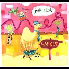 "Justin Roberts ""Way Out"" cd SEALED"