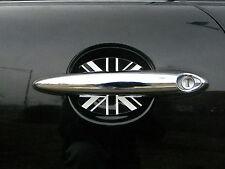 MINI COOPER BRITISH FLAG UNION JACK DOOR HANDLE SCRATCH GUARDS CAR ACCESSORY 2PK