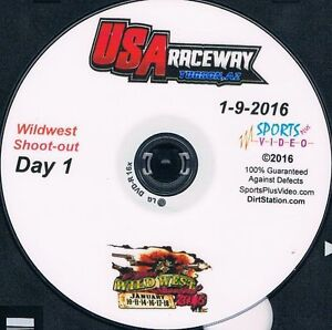 Late Models Wildwest Shootout DVD From USA Raceway 1-9-2016 to 1-17-2016