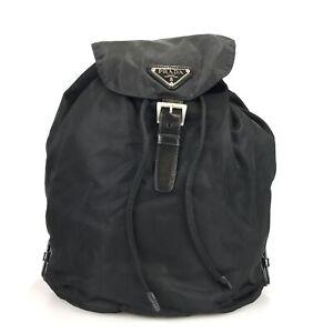 100% authentic Prada nylon Tesuto backpack used 1179-3-e@1
