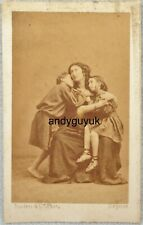 CDV ADELAIDE RISTORI MEDEA DISDERI ANTIQUE VICTORIAN PHOTO PARIS FRANCE
