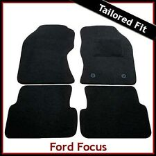 FORD FOCUS Mk1 1998-2005 Fully Tailored Carpet Car Floor Mats BLACK