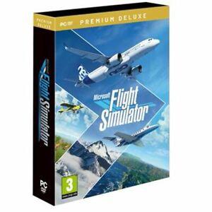 Microsoft Flight Simulator 2020 Premium Deluxe PC DVD
