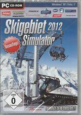 Skigebiet Simulator 2012 (PC, 2011, DVD-Box) Brandneu & Verschweisst