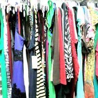 WOMENS DESIGNER CLOTHING BOX LOT Sz M 10 pc! Mixed Resale EUC