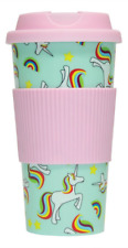 BN Unicorn travel mug - Coffee to go in style - UK SELLER