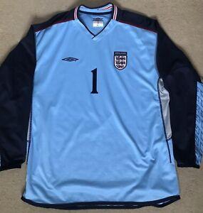 Umbro England Goalkeeper Shirt 2002