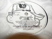 """G. DEP SPECIAL DELIVERY / CHILD OF THE GHETTO 12"""" Single NM Bad Boy 2001 PROMO"""