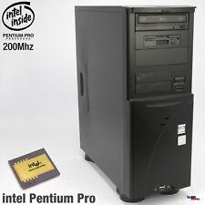 2xISA Slot Computer Pc Intel Pentium pro 200MHZ Windows 2000 Siemens Sni Ag D970