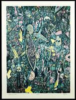 "Kunst in der DDR. ""Grosser Karneval"", 1988. Rainer HENZE (*1952 D), handsigniert"