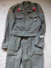 Tenue de Battle Dress d'un MP Military Police Royaume de Belgique daté 1956