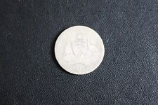 AUSTRALIA 1914  SILVER One Shilling 1/- COIN-KING GEORGE V