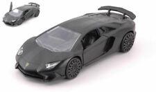 Lamborghini Aventador Sv Matt Black 12,5cm Model JADA TOYS