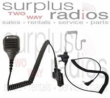 Motorola OEM Police Remote Speaker Mic PMMN4051B XTS2500 XTS5000 W/Free Earpiece