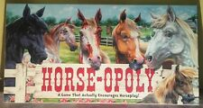 HORSE-OPOLY Monopoly Childrens & Adult Board Game Equine- Complete