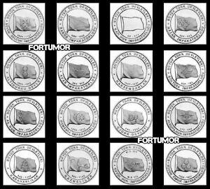HISTORIC STATES of TURKS TURKEY 16 PCS COIN SET 1 k. 2015 2016 UNC COMMEMORATIVE